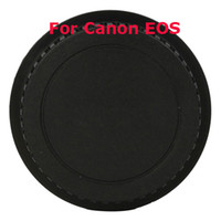 Wholesale Replacement Rear Lens Cap For Canon EOS Black Plastic Ship From USA D00564
