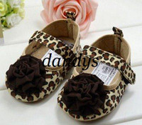 Wholesale Baby Shoe Toddlers shoes Infant Shoes Baby Walker Leopard