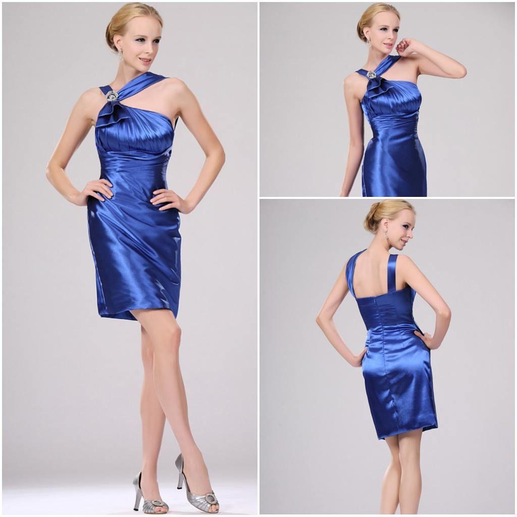 royal-blue-bridesmaid-dresses-one-shoulder jpgOne Shoulder Royal Blue Bridesmaid Dresses