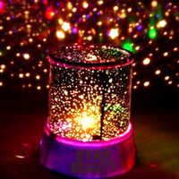 Wholesale Colorful STAR MASTER laser LED projector Star Projector Lamp LED Night light lantern romantic gift