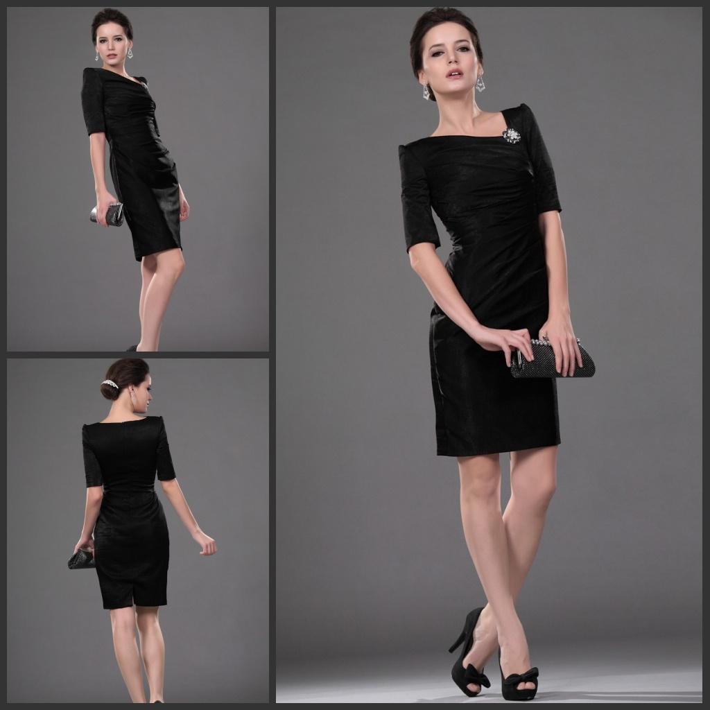 Lady's Formal Dresses Black