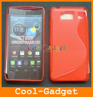 Wholesale S Line Soft TPU Gel Skin Case Cover for MOTOROLA DROID RAZR HD XT926 XT926C01