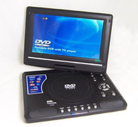Wholesale Cyrilaa Inch Player EVD DVD Portable EVD with tv player card reader usb game hot