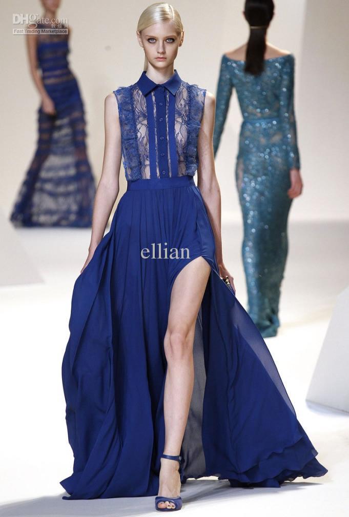 2013 New Designer Women Elegant Dress Sexy Luxury Silk Maxi ...