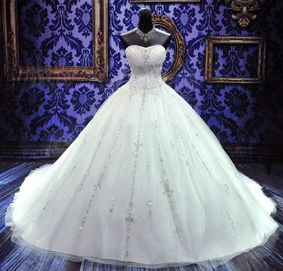 Beaded Ball Gowns Organza