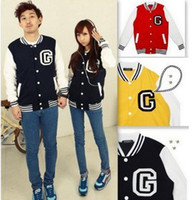 Wholesale Fashion Baseball Varsity Jackets Coats For man women Uniform Sweater colors