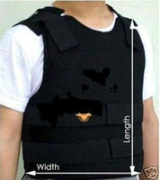 Wholesale NIJ Standard PE Bullet Proof VEST Bulletproof IIIA for Ballistic Resistance Body Armor Size