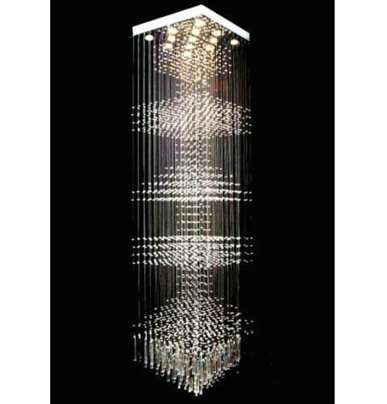 New Modern Fashion LED K9 Crystal Chandelier Lobby Living Room – Modern Crystal Chandeliers