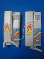 Wholesale High Quality White Pair of Wired Two Way Doorbell Bell Dual Phone Interphone Walkie Talkie S933