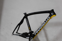 Wholesale 2013 New Arrival PINARELLO DOGMA Think Carbon Road Bike Frame Black Yellow Road Bicycle Frame