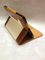 Wholesale Book Design High Quality PU Leather Case W Card Holder Stand Case For inch iPad Mini
