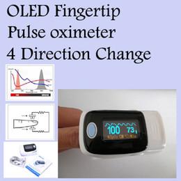 Wholesale Fingertip Pulse Oximeter Oxymeter SPO2 Oxygen Monitor OLED Display Sound