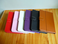 Wholesale 2012 Newest hotsale Lichee Leather Case for inch tablet pc leathe cover for ebook colorful Leather