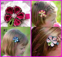 Hairband Cloth Floral Child Handmade Headwear Kids Hairpin Beautiful Hair Flowers Girls Hair Clips Baby Hair Accessories