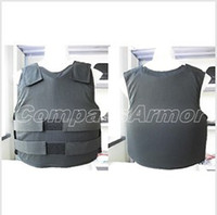 Wholesale Medium Size Covert bulletproof Vest wearing inside protection level NIJ III