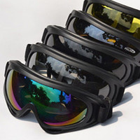 Wholesale Pairs Outdoor Snowmobile Motorcycle Off Road Ski Goggle Glasses Eyewear Lens Clear