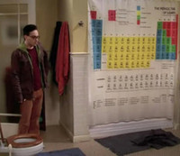 Wholesale The Big Bang Theory shower curtain x180cm waterproof bathroom shower curtain
