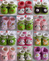 Boy baby bootees - Hot Sale Handmade Crochet Shoes Booties Bootees Baby Newborn Adorable Baby Baby Booties Crocheted