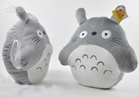 OTHER  AS PHOTO Unisex 2013 Hot New totoro Pillow Cushion baby plush dolls Grey Soft Warm Cartoon Animal Cat 16 inch