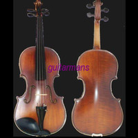 Wholesale concert violin with spruce top Flame maple back and sides Ebony Fingerboard and pegs SFCVN