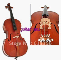 Wholesale 4 high quality solid wood cello with JUJUBE accessories for student