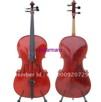 Wholesale fast high quality hand made student model cello with dyed black rosewood amp ebony a
