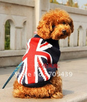 Wholesale New Super warm jacket dresspet dog pet clothes dog winter jacket U S flag English flag