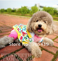 Wholesale Four legged padded warm pet clothes for winter TCY