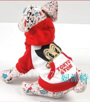 Wholesale Hot Selling Magic Babe the New Astro Boy winter Coat Pet Clothes