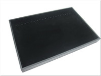 Wholesale JEWELRY BLACK NECKLACE BRACELET DISPLAY CASE BOX TRAY