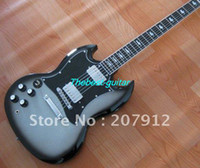 Solid Body 6 Strings Mahogany Rare Left-handed Angus Young Limited Edition S G Silver burst Electric Guitar
