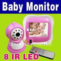 Wholesale New Product quot Color LCD Wireless Baby Monitor Video Camera Night vision SP
