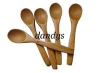 Wholesale wooden honey baby spoon hot sale sizes cm D007