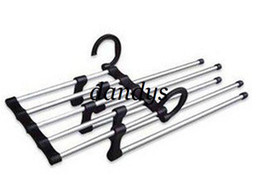 Wholesale We Best Magic Trousers Hanger Metal Rack Multifunction Pants Hanger Pieces Per Lo
