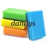 sh - Magic Sponge multi functional sponge kitchen dish sponge Colorful scouring pad drop sh