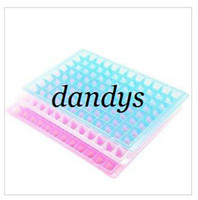 Wholesale Silicone diamond cube ice mold Tray cm files slots frozen cells drop sh