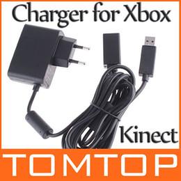 Câble d'alimentation pour kinect en Ligne-Câble adaptateur d'alimentation pour Xbox 360 Kinect capteur EU F1313E Livraison gratuite