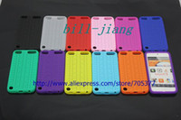Wholesale for i touch case tyre Soft Silicone Back Case For New I Touch th pc ship china post