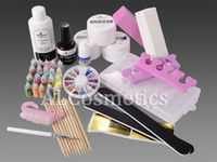 Wholesale UV Gel Starter Kit For Nail Art Decoration Set