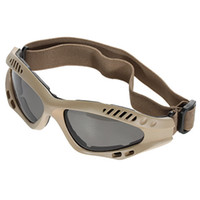 Wholesale Grey Lens Military Goggles with Practical Design Desert Frame