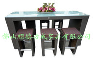 Wholesale outdoor furniture outdoor rattan furniture bar furniture bar set