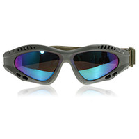 Wholesale Colorful Lens Military Goggles with Practical Design Military Frame