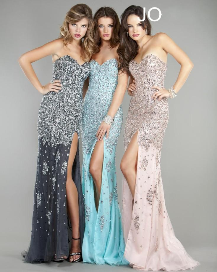 2015 Dhgate Best Selling Sweetheart Crystals Prom Dresses High ...
