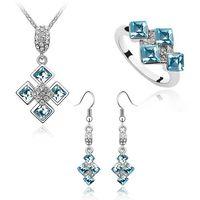 Wholesale Crystal Jewelry Set fashion jewelry Set Mixed batch make with Swarovski Elements