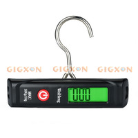 Wholesale Black Kg g G KG LCD Digital Hanging Luggage Fishing Weight Hook Scale