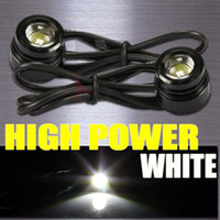 Blue   High Power LED Daytime Running Light DRL Driving Fog Back Up Parking Lights