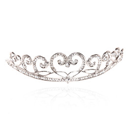Wholesale The door of the bride headdress bride headdress bride hair accessories diamond hair hoop crown marri