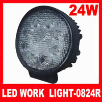 Wholesale Hot Sale quot W V lumens Round Waterproof IP67 K Pmma Lens LED Work Light Free S
