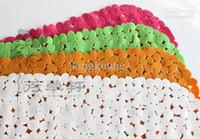 Wholesale The cobblestone PVC bath mat massage shower anti slip mat with suction cups