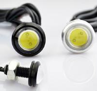 12V led drl - 10W mm Flashing Eagle Eye Lamp Reversing Light License Plate Lamp Car led Light LED DRL
